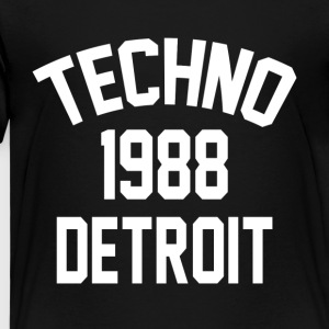 Techno 1988 Detroit - T-shirt Premium Enfant