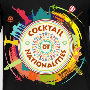 Cocktail av Nationalities - Premium-T-shirt barn