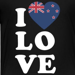 I love New Zealand - Kids' Premium T-Shirt
