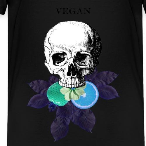 Vegan Eats - Blue - Kids' Premium T-Shirt