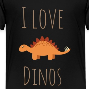I love Dinos - Kids' Premium T-Shirt