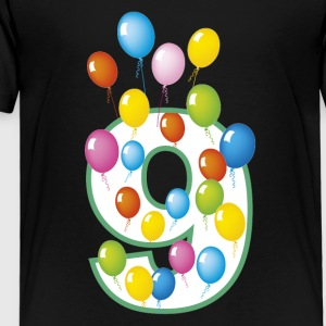 Ninth birthday 9 years - Kids' Premium T-Shirt