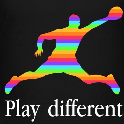 PLAY DIFFERENT - T-shirt Premium Enfant