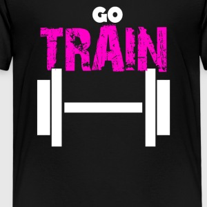 train - T-shirt Premium Enfant