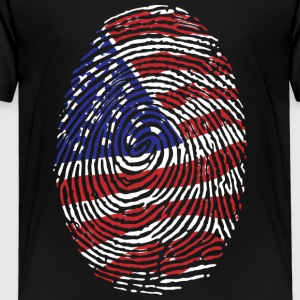 USA! Amerika! USA! Patriot! - Premium-T-shirt barn