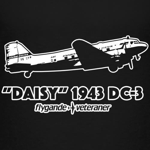 Daisy Flyby 2 - Premium-T-shirt barn