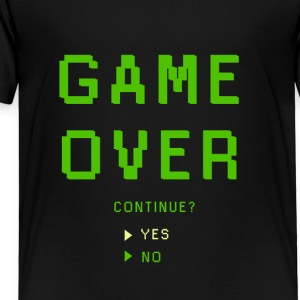 Game Over. Continue? YES - NO - Kids' Premium T-Shirt