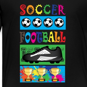 Soccer Football - KIDS SOCCER - T-shirt Premium Enfant