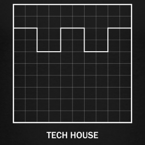 Tech house AMPLITUDE - Premium-T-shirt barn