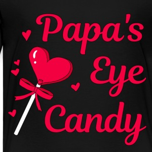 Papa's eye candy - Kids' Premium T-Shirt