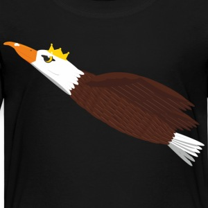 Flying eagle in the crown - Kids' Premium T-Shirt