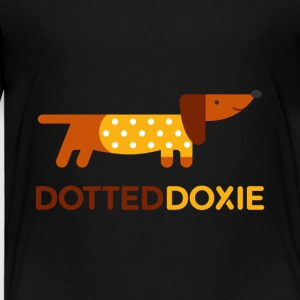 Dotted Doxie - Kids' Premium T-Shirt