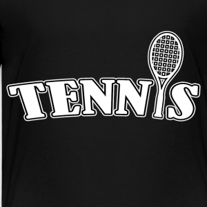 Tennis - Kinder Premium T-Shirt