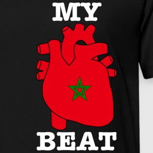 Morocco Marokko المغرب MY HEART BEAT - Kinder Premium T-Shirt