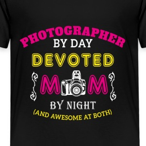 photographer mother - Kids' Premium T-Shirt