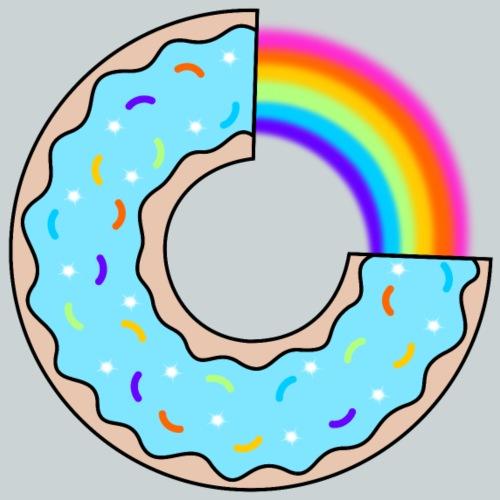 Donut blue - Kids' Premium T-Shirt