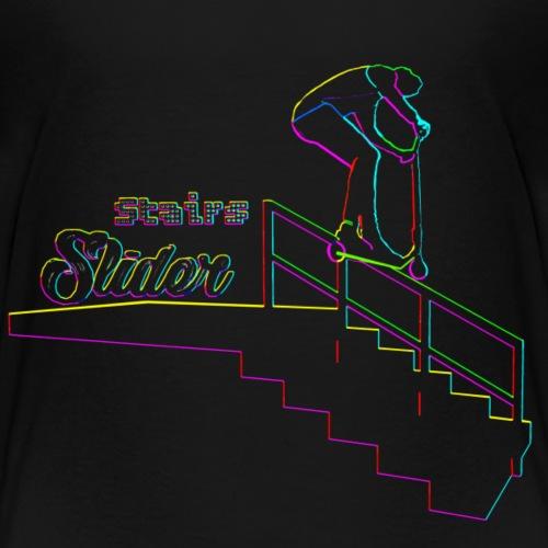 Stairs Sliders Techno - T-shirt Premium Enfant