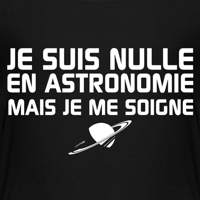 Je suis nulle en Astronomie
