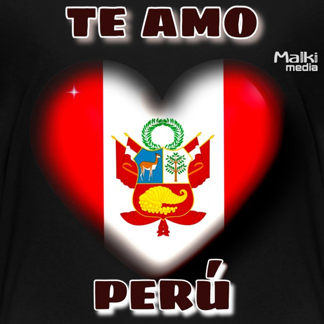 Te Amo Peru Corazon
