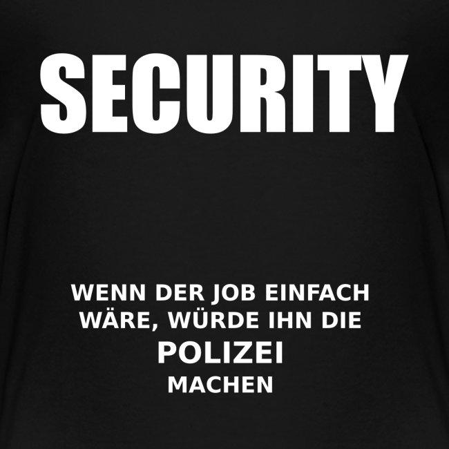 Security - Wenns einfach wäre...