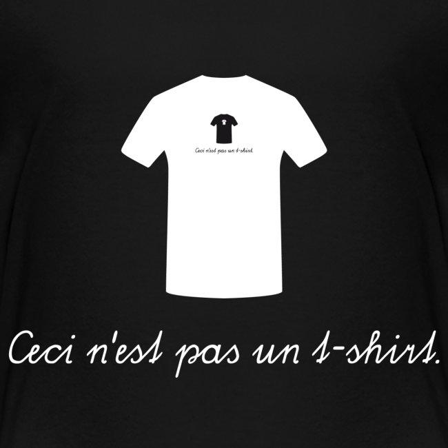 Ceci n'est pas un t-shirt.