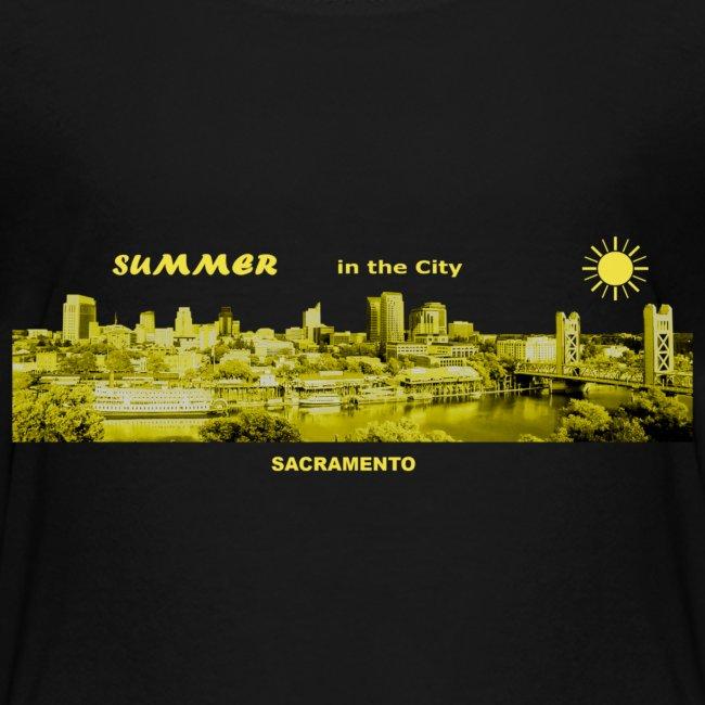 Summer City Sacramento Kalifornien