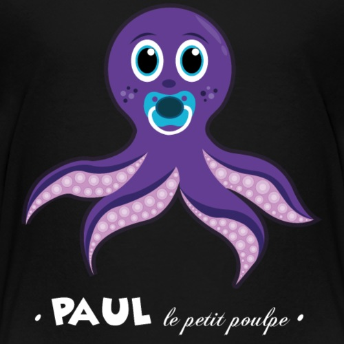 Paul le petit poulpe - T-shirt Premium Enfant
