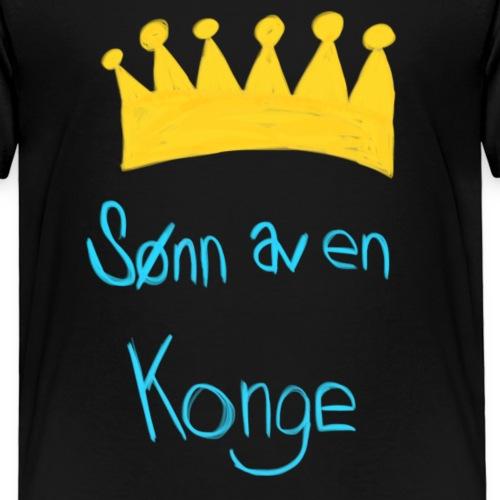Sønn av en konge - Premium T-skjorte for barn