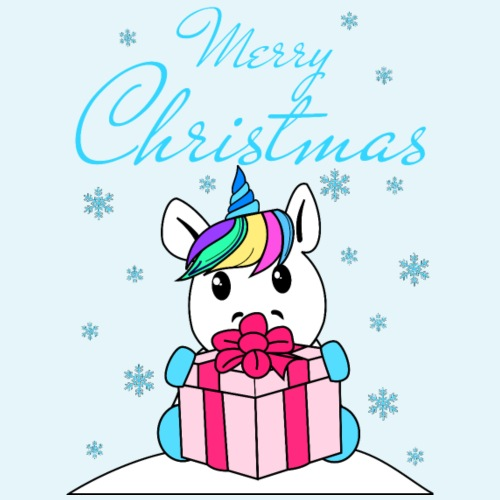 Christmas Unicorn - Kids' Premium T-Shirt