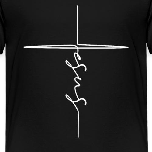 Jesus Kreuz Christlich - Kinder Premium T-Shirt