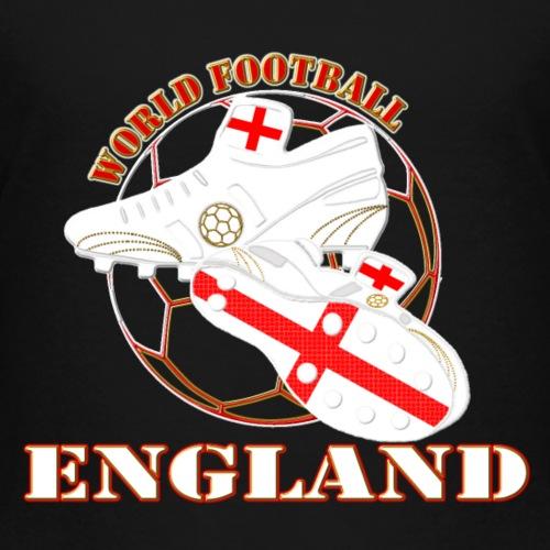 england world football soccer design - Kids' Premium T-Shirt