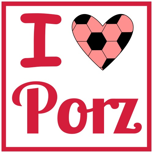 I love Fussball in Porz - Kinder Premium T-Shirt