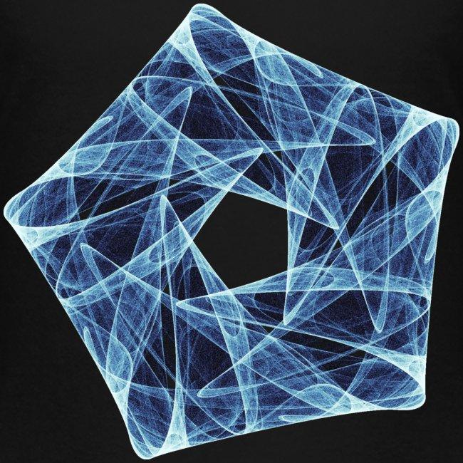 Order chaos art star pentagon 12154ice