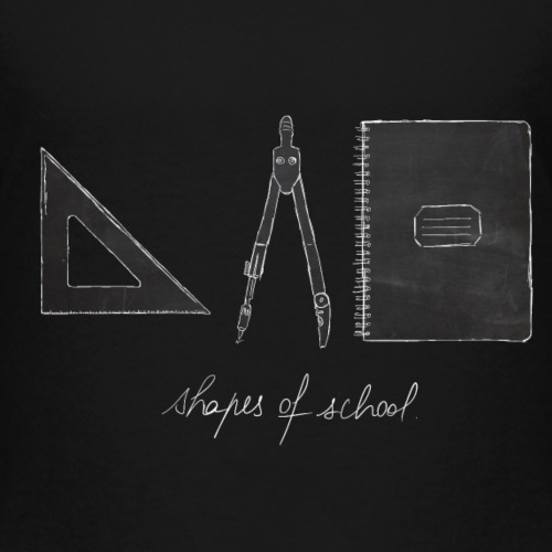 Shapes of School - T-shirt Premium Enfant