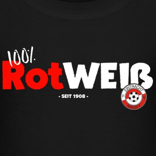 FVE 100 Rot weiß - Kinder Premium T-Shirt