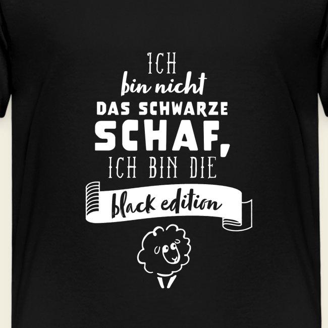 Schwarzes Schaf - black edition