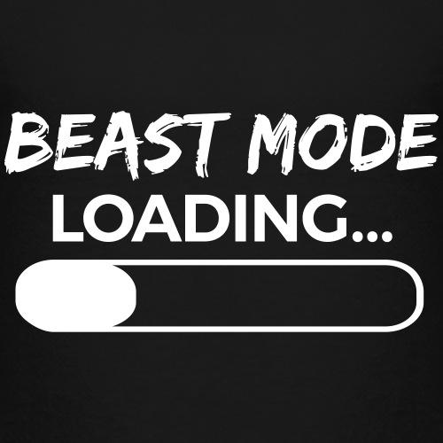 Beast Mode Loading - Kinder Premium T-Shirt