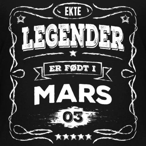 Ekte legender er født i mars