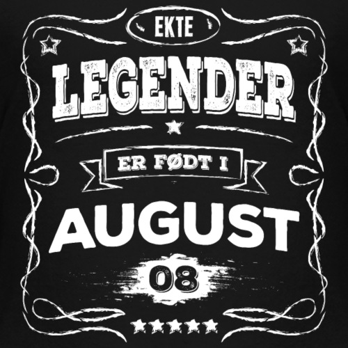 Ekte legender er født i august