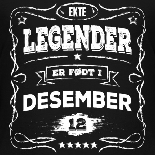 Ekte legender er født i desember