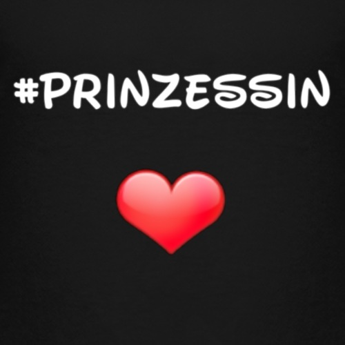 #prinzessin - Kinder Premium T-Shirt