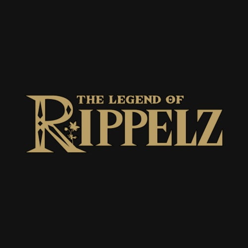 Rippelz - The Legend of Rippelz (Schriftzug only) - Kinder Premium T-Shirt