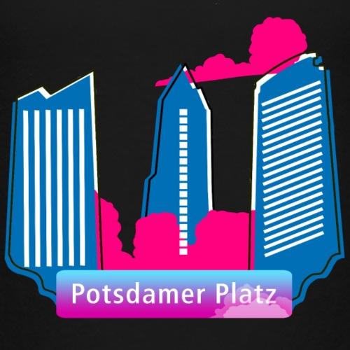 .Potsdamer Platz Wolkenkratzer.
