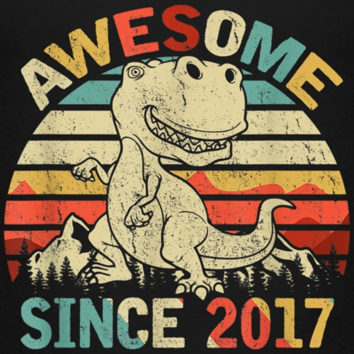 Awesome since 2017 - Kinderen Premium T-shirt