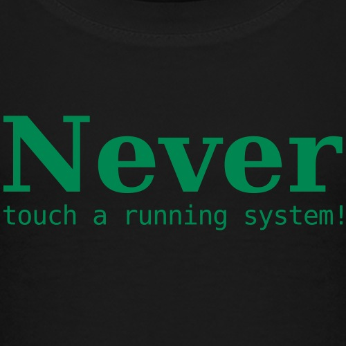 Never touch .... - Kinder Premium T-Shirt