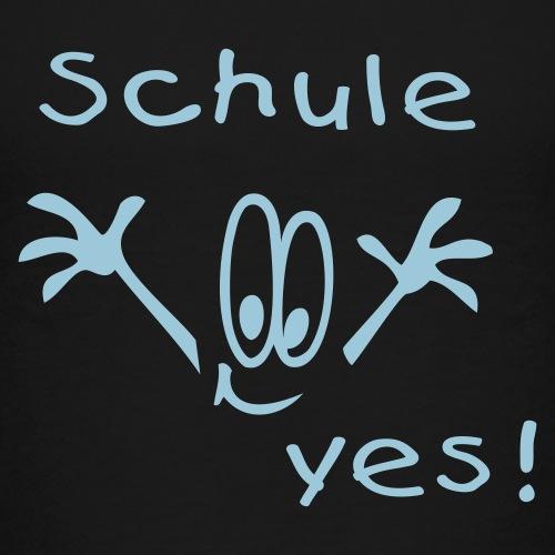 Schule yes - Kinder Premium T-Shirt