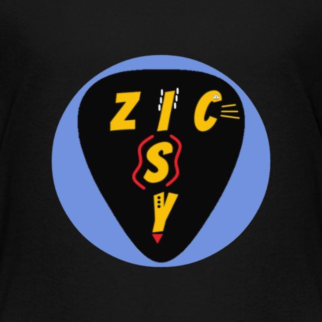 Zic izy rond bleu