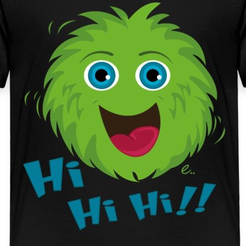 Petit Monstre Vert - T-shirt Premium Enfant