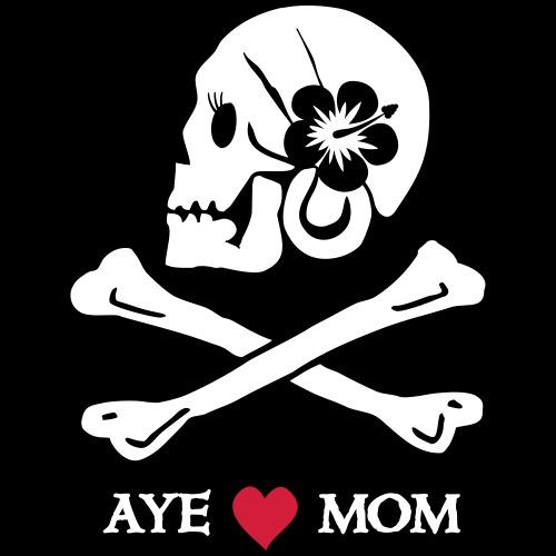 Aye love Mom - Kinder Premium T-Shirt