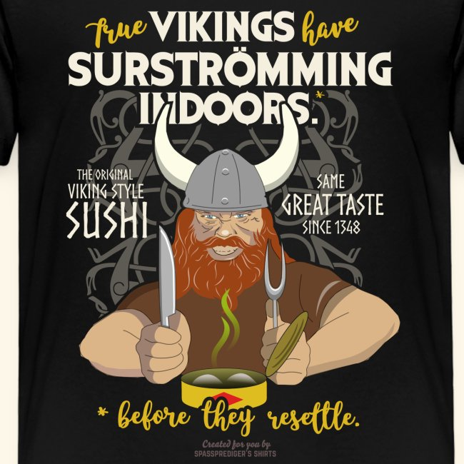 Indoors | Surströmming T-Shirts
